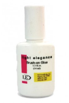 Light Elegance Brush-on Nail Glue - 0.5oz / 14ml