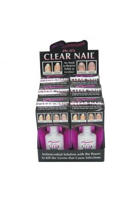 Dr. G's Clear Nail Fungus Treatment - 0.6oz / 18ml - 6 pack Display