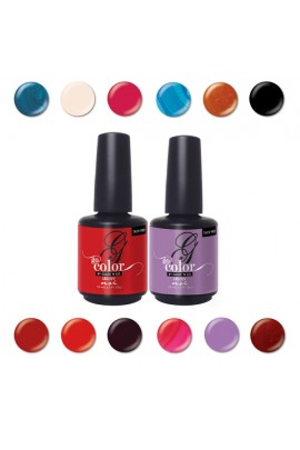 NSI - Go Color Tack-Free LED / UV Gel Polish - All 12 Colors - 0.5oz / 15ml