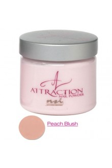 NSI Attraction Nail Powder: Peach Blush - 4.6oz / 130g