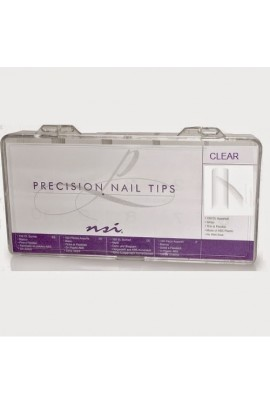 NSI - Precision Nail Tips - Clear - 200ct