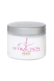NSI Attraction Nail Powder: Rebalance White - 1.42oz / 40g