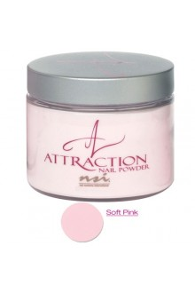 NSI Attraction Nail Powder: Soft Pink - 4.6oz / 130g