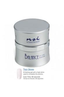NSI Balance UV Gel: Top Gloss - 0.5oz / 15g