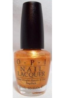 OPI Nail Lacquer - 18K Ginza Gold - 0.5oz / 15ml