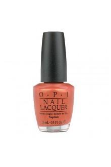 OPI Nail Lacquer - Burning Love - 0.5oz / 15ml