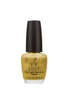 OPI Nail Lacquer - Glitter Bit of Music Top Coat - 0.5oz / 15ml