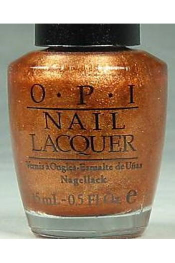 OPI Nail Lacquer - Opus in Amber - 0.5oz / 15ml
