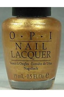 OPI Nail Lacquer - Symphony In Gold - 0.5oz / 15ml