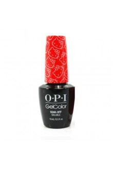 OPI GelColor - Hello Kitty Collection - 5 Apples Tall - 0.5oz / 15ml