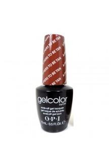 OPI GelColor - Soak Off Gel Polish - A-Piers To Be Tan - 0.5oz / 15ml