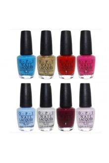 OPI Nail Lacquer - Alice Through The Looking Glass Collection - ALL 8 Colors - 0.5oz / 15ml Each