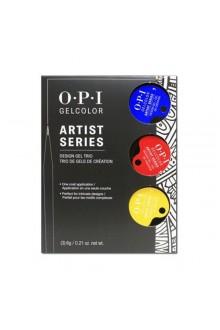 OPI GelColor - Artist Series - Design Gel Trio