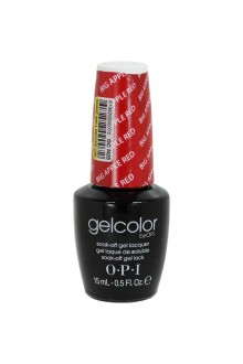 OPI GelColor - Soak Off Gel Polish - Big Apple Red - 0.5oz / 15ml