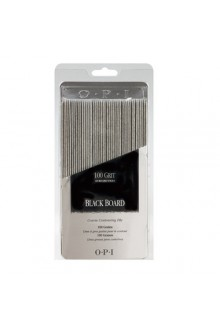 OPI Nail Files - Black Board FL 263 - 100 Grit - 48pk