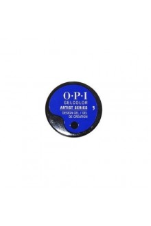 OPI GelColor - Artist Series - Blue-Per Reel - 0.21oz / 6g