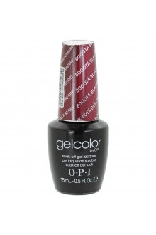 OPI GelColor - Soak Off Gel Polish - Bogotá Blackberry - 0.5oz / 15ml