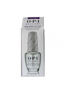 OPI Pro Nail Treatments - Brilliant - High-Shine Top Coat - 0.5oz / 15ml