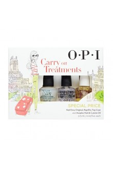 OPI - Carry On Treatments Mini 3 Pack Set - 3.75ml / 0.125oz Each