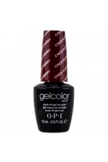 OPI GelColor - Soak Off Gel Polish - Chick Flick Cherry - 0.5oz / 15ml