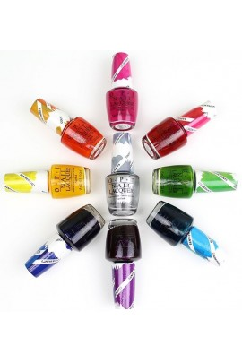OPI - Color Paints 2015 Collection - Blendable Lacquer - 15ml / 0.5oz - All 9 Colors