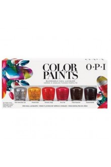 OPI - Color Paints 2015 Collection - Blendable Nail Lacquer -  MINI - 6 x 3.75ml