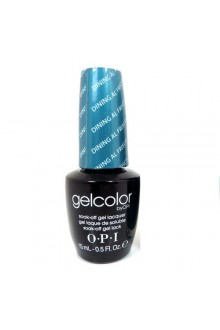 OPI GelColor - Soak Off Gel Polish - Dining Al Frisco - 0.5oz / 15ml