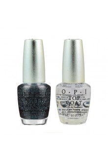 OPI Nail Lacquer - Designer Series - Polished Quartz Duo - DS Titanium + DS Top Coat