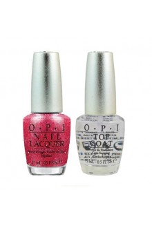 OPI Nail Lacquer - Designer Series - Polished Quartz Duo - DS Tourmaline + DS Top Coat