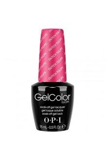 OPI GelColor - Soak Off Gel Polish - The Femme Fatales Collection - Dutch Tulip - 0.5oz / 15ml