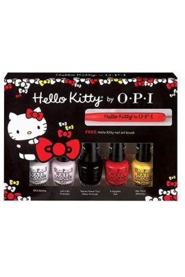 OPI Nail Lacquer - Hello Kitty Collection - Friend Pack Kit - 3.75ml / 0.125oz Each