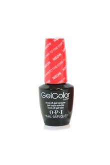 OPI GelColor - The Neons 2014 Collection - Down to the Core-al - 0.5oz / 15ml