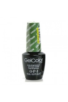 OPI GelColor - Coca-Cola 2014 Collection - Green On the Runway - 0.5oz / 15ml