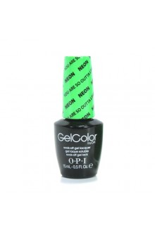 OPI GelColor - The Neons 2014 Collection - You're So Outta Lime! - 0.5oz / 15ml