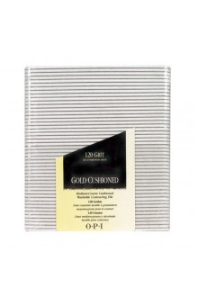 OPI Nail Files - Gold Cushioned FL 271 - 120 Grit - 48pk