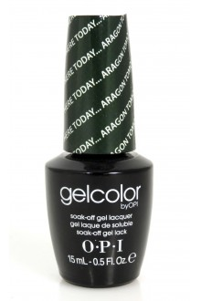 OPI GelColor - Soak Off Gel Polish - Here Today Aragon Tomorrow - 0.5oz / 15ml