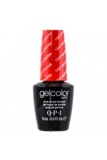 OPI GelColor - Soak Off Gel Polish - I Eat Mainely Lobster - 0.5oz / 15ml
