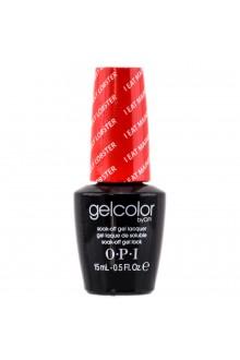 OPI GelColor - Soak Off Gel Polish - I Eat Mainely Lobster - 0.5oz / 15ml