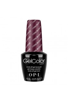 OPI GelColor - Soak Off Gel Polish - I Sing In Color - 0.5oz / 15ml