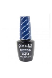 OPI GelColor - Soak Off Gel Polish - Keeping Suzi At Bay - 0.5oz / 15ml