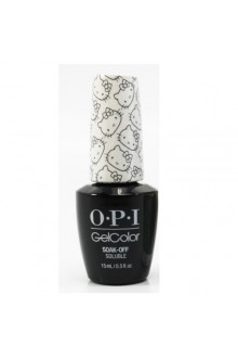 OPI GelColor - Hello Kitty Collection - Kitty White - 0.5oz / 15ml