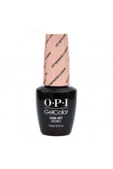 OPI GelColor - New Orleans Collection - Let Me Bayou A Drink - 0.5oz / 15ml