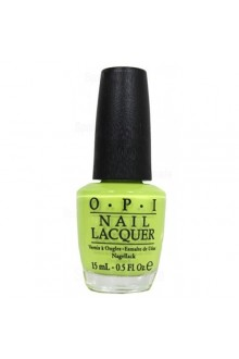 OPI Nail Lacquer - Neons 2014 Collection - Life Gave Me Lemons - 0.5oz / 15ml