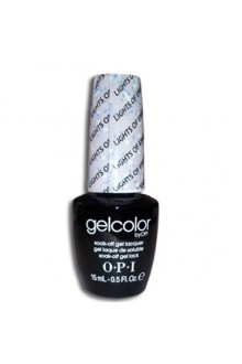 OPI GelColor - Soak Off Gel Polish - Lights of Emerald City - 0.5oz / 15ml