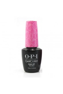 OPI GelColor - Hello Kitty Collection - Look At My Bow! - 0.5oz / 15ml
