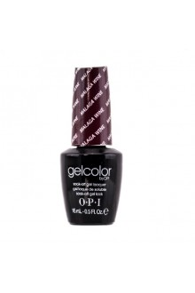 OPI GelColor - Soak Off Gel Polish - Malaga Wine - 0.5oz / 15ml