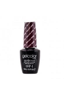 OPI GelColor - Soak Off Gel Polish - Malaga Wine - 0.5oz / 15ml