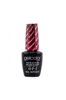 OPI GelColor - Soak Off Gel Polish - Miami Beet - 0.5oz / 15ml