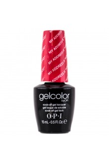"OPI GelColor - Soak Off Gel Polish - My Address Is ""Hollywood"" - 0.5oz / 15ml"