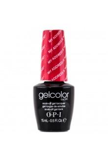 """OPI GelColor - Soak Off Gel Polish - My Address Is """"Hollywood"""" - 0.5oz / 15ml"""